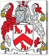 Hamlin Coat Of Arms Irish Canvas Print