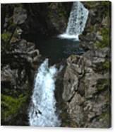 Hamma Hamma Falls Canvas Print