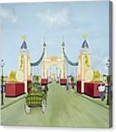 Hammersmith Bridge, 1981 Canvas Print