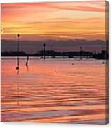 Hampshire Sunset Canvas Print