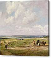 Hampstead Heath, C.1820 Canvas Print
