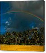 Hanalei Rainbow Canvas Print