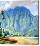 Hanalei Style Canvas Print