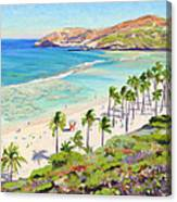 Hanauma Bay - Oahu Canvas Print