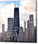 Hancock Building In Chicago Canvas Print