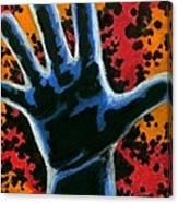 Hand 2 Canvas Print