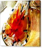 Hand Blown Glass Pendant Canvas Print