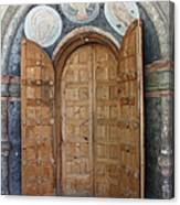 Hand-painted Gate Canvas Print