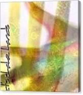 Hand Shake Canvas Print