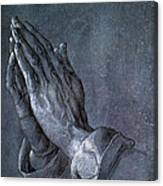 Hands Of An Apostle 1508 Canvas Print