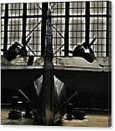 Hangar B Floyd Bennett Field Canvas Print