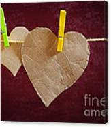 Hanged Heart Canvas Print