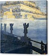 Hanging Gardens Of Babylon Canvas Print