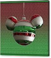 Hanging Mickey Ears 02 Canvas Print