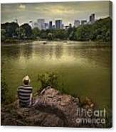 Hanging Out In Central Park Canvas Print