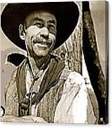 Hank Worden Publicity Photo Red River 1948-2008 Canvas Print