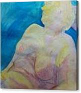 Hanna At The Muse Canvas Print