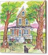 Hannah's House Canvas Print