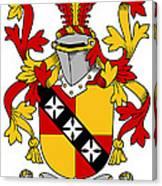 Hannon Coat Of Arms Irish Canvas Print