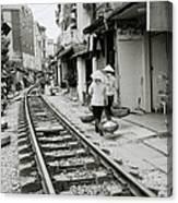 Hanoi Lifestyle Canvas Print