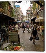 Hanoi Street Market    Canvas Print