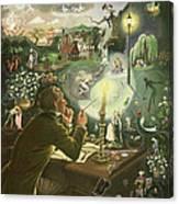 Hans Christian Andersen Canvas Print