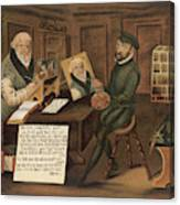 Hans Sachs  German Writer, Depicted Canvas Print