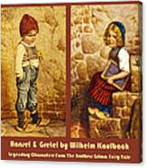 Hansel And Gretel Brothers Grimm Canvas Print