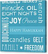 Hanukkah Fun Canvas Print