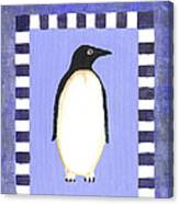 Hanukkah Penguin One Canvas Print