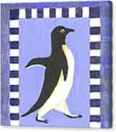Hanukkah Penguin Two Canvas Print