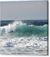 Happily At Sea Canvas Print