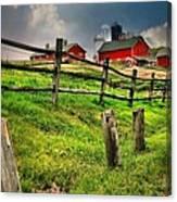 Happy Acres Farm Canvas Print