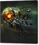 Happy Apocalypse Canvas Print