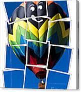 Happy Balloon Ride Canvas Print