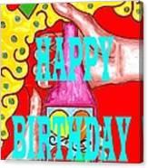 Happy Birthday 1 Canvas Print