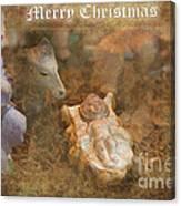 Happy Birthday Jesus Canvas Print