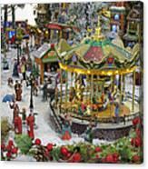 Happy Christmas -2 Canvas Print