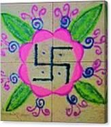 Happy Dhanteras Canvas Print