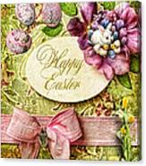 Happy Easter 2 Canvas Print