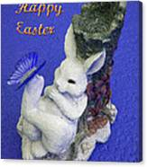 Happy Easter Card 3 Canvas Print