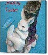 Happy Easter Card 7 Canvas Print