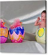 Happy Easter 3 Canvas Print