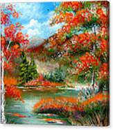Happy Ever After Autumn  Canvas Print