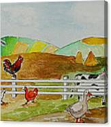 Happy Farm Canvas Print