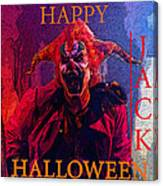 Happy Halloween Jack Canvas Print