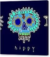 Happy Hippy Hopey Canvas Print