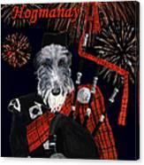 Happy Hogmanay Canvas Print