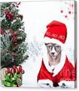 Xmas Holidays Greeting Card 108 Canvas Print