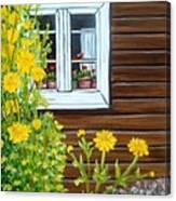 Happy Homestead Canvas Print